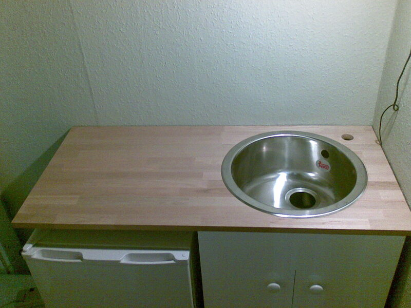 small bench top