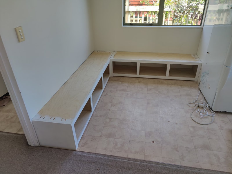 bench seats with storage