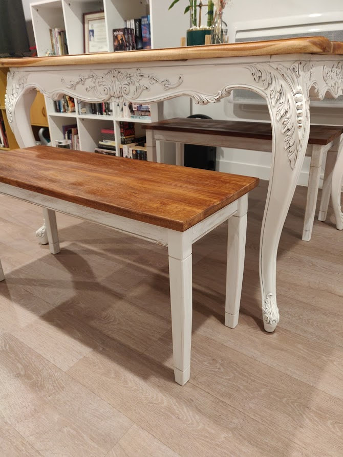 french country bench seats